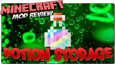 potion storage minecraft mod