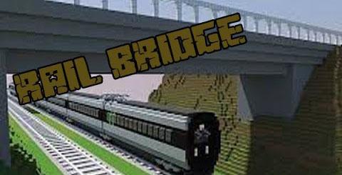 rail bridges minecraft mod