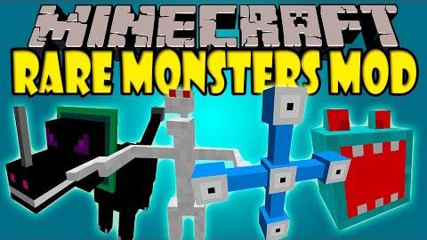 rare monsters minecraft mod