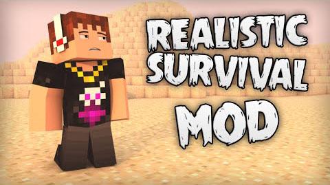 realistic survival minecraft mod