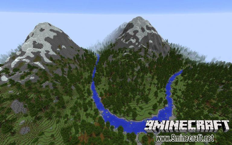 realistic world gen minecraft mod