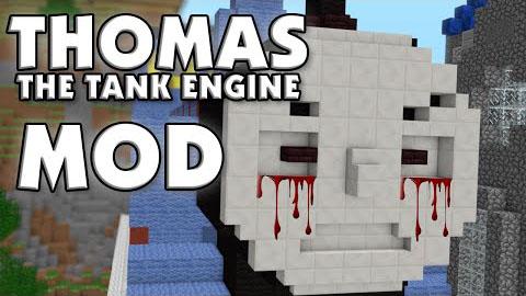 really disturbing tank engines minecraft mod
