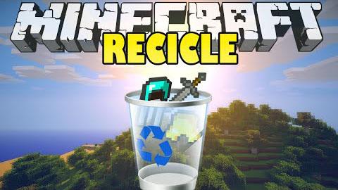 recycle items plus minecraft mod
