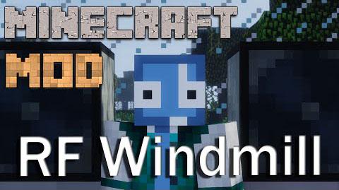 redstone flux windmills minecraft mod