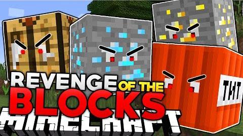 revenge of the blocks minecraft mod