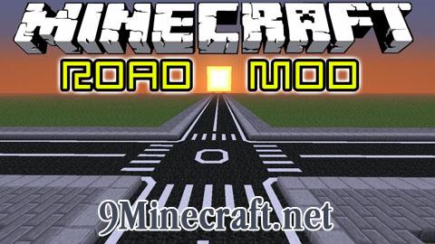 road minecraft mod
