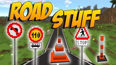 road stuff minecraft mod