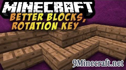 rotation key minecraft mod
