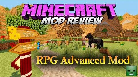 rpg advanced minecraft mod