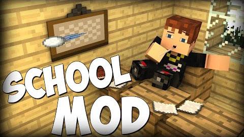 school minecraft mod