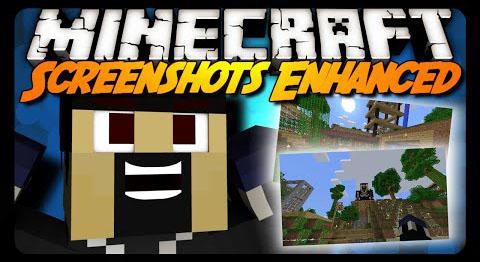 screenshots enhanced minecraft mod