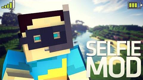 selfie minecraft mod