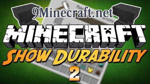 show durability 2 minecraft mod