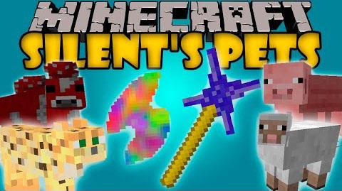 silents pets minecraft mod