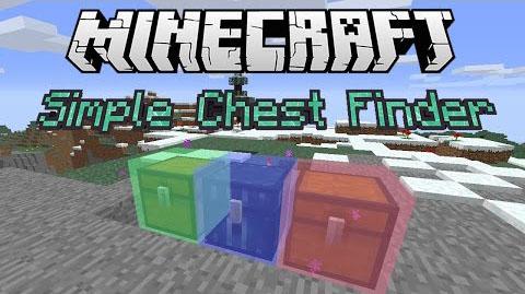 simple chest finder minecraft mod