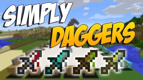 simply daggers minecraft mod