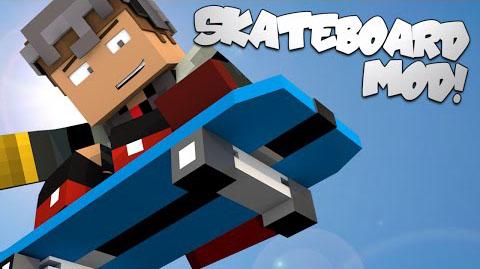 skateboard minecraft mod