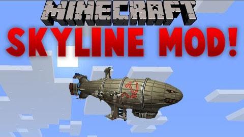 skyline minecraft mod