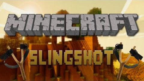 sling shot minecraft mod