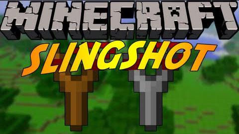 slingshot by grim3212 minecraft mod