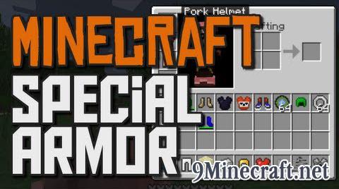 special armor minecraft mod