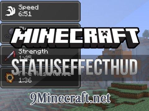 statuseffecthud minecraft mod