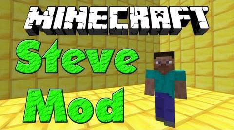 steve minecraft mod
