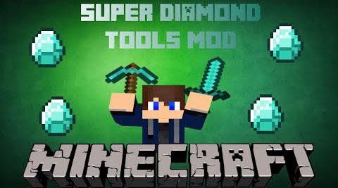 super diamond tools minecraft mod