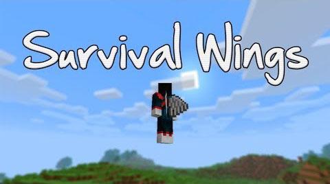 survival wings minecraft mod