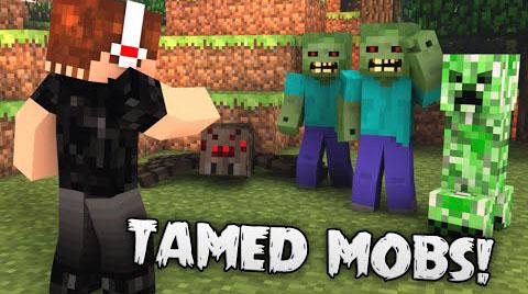 tamed mobs minecraft mod