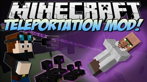 teleportation minecraft mod