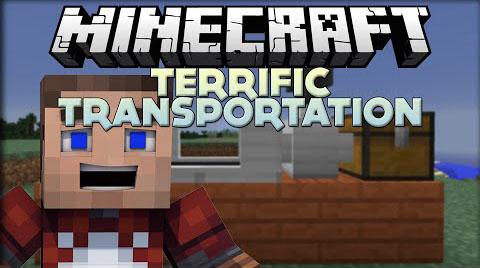 terrific transportation minecraft mod