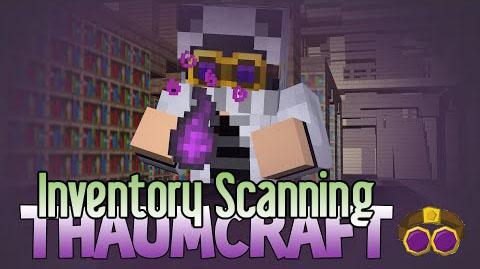 thaumcraft inventory scanning minecraft mod