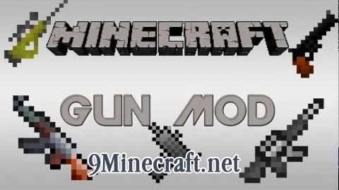 the gun minecraft mod