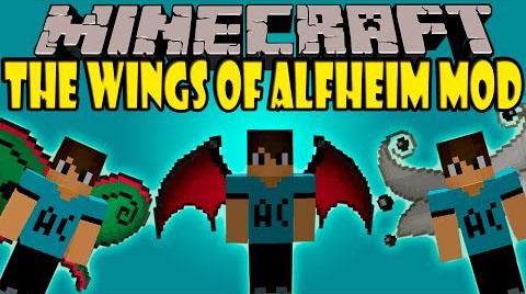 the wings of alfheim minecraft mod