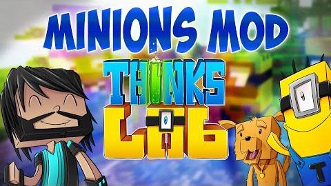 thinks lab minions minecraft mod