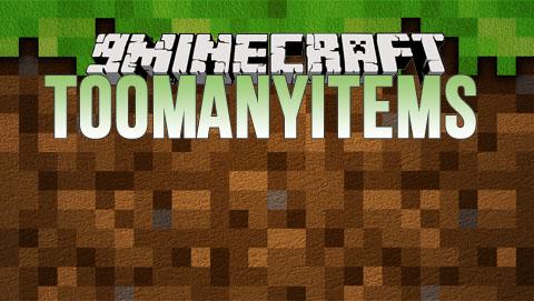 toomanyitems minecraft mod