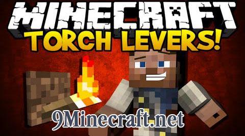 torch levers minecraft mod