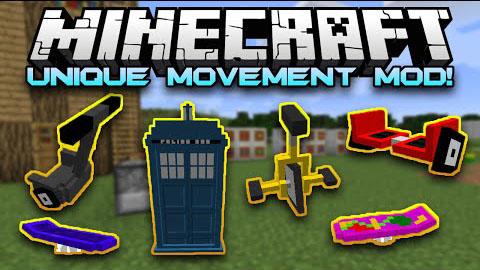 unique movement minecraft mod
