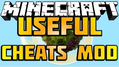 useful cheats minecraft mod