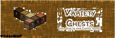 variety chests minecraft mod