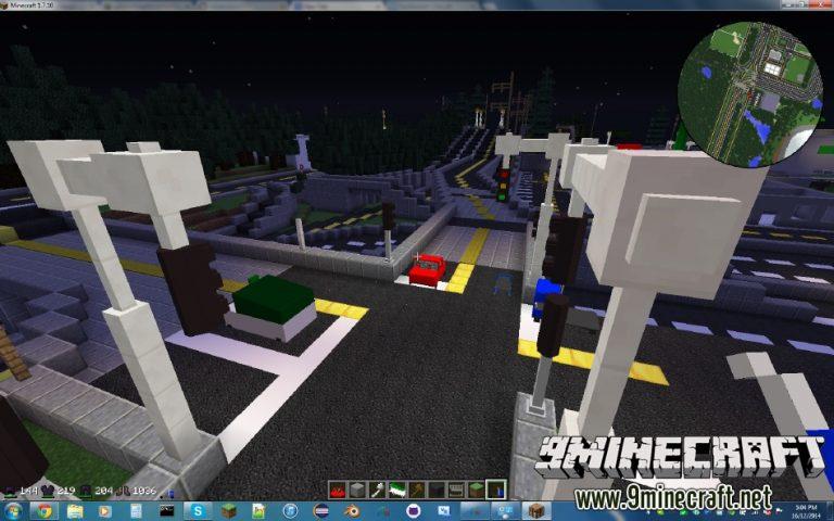 vehicular movement minecraft mod