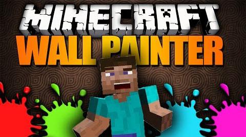 wall painter minecraft mod