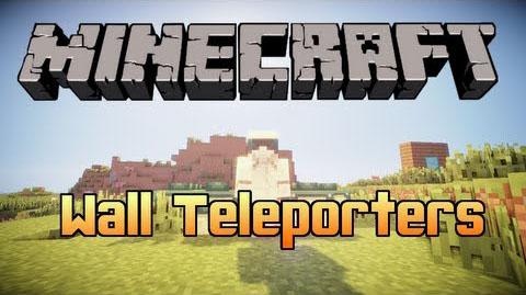 wall teleporters minecraft mod