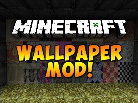 wallpaper minecraft mod