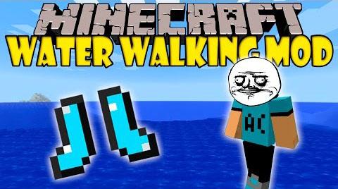 water walking minecraft mod