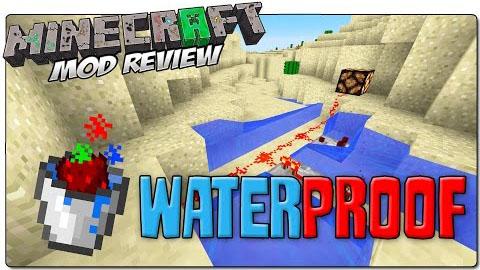 waterproof minecraft mod