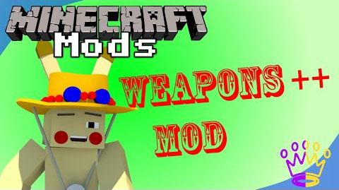 weapons plus plus minecraft mod