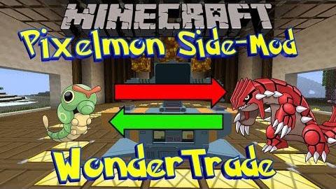 wonder trade side minecraft mod