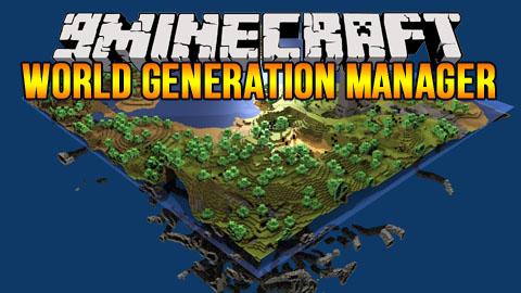 world generation manager minecraft mod